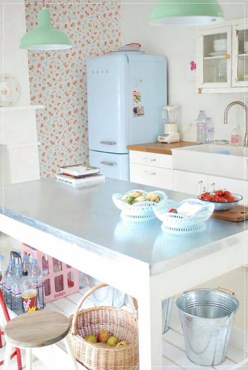 cozinha-retro-geladeira-azul